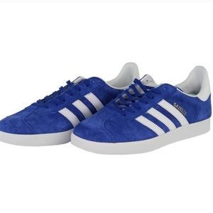 EUC Adidas Blue Gazelle Sneakers Women 6/Youth 4